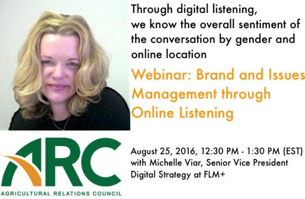 Brand and Issues Management Through Online Listening