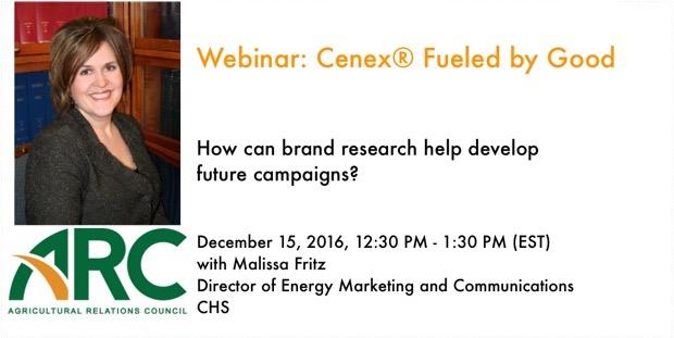 Webinar: Webinar: Cenex® Fueled by Good With Malissa Fritz, CHS