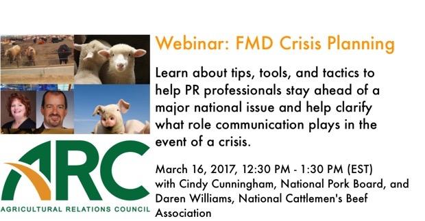 Webinar: FMD Crisis Planning