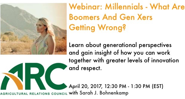 Webinar: Millennials - What Are Boomers And Gen Xers Getting Wrong?