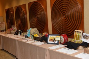 AMSARC Auction Table