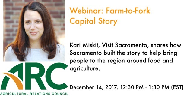 Webinar: Kari Miskit - Farm-to-Fork Capital Story