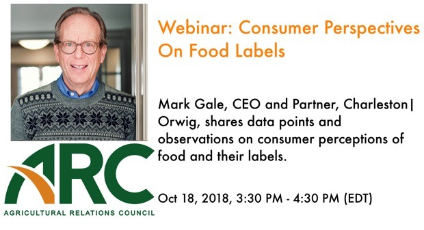 ARC Webinar: Consumer Perspectives On Food Labels