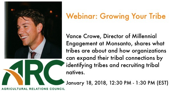 Webinar: Vance Crowe - Growing Your Tribe