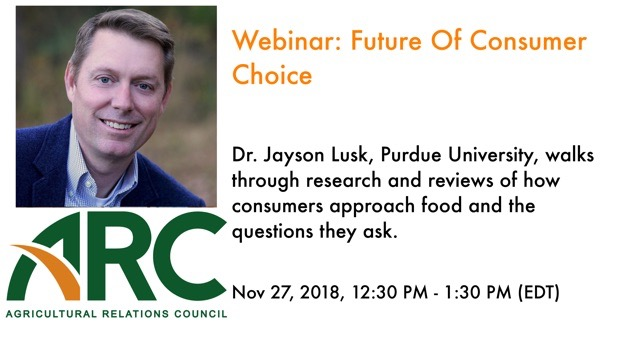 ARC Webinar: Future Of Consumer Choice