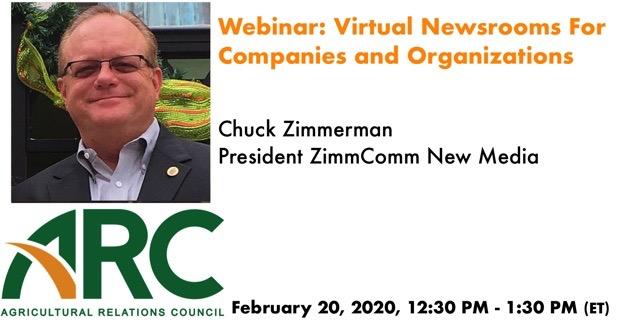 ARC Webinar: Virtual Newsrooms For Companies and Organizations