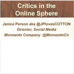 Webinar: Critics in the Online Sphere